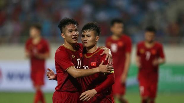 Trang chủ LĐBĐ châu Á chọn U23 Việt Nam - U23 UAE vào top đáng xem nhất vòng bảng - Ảnh 1.