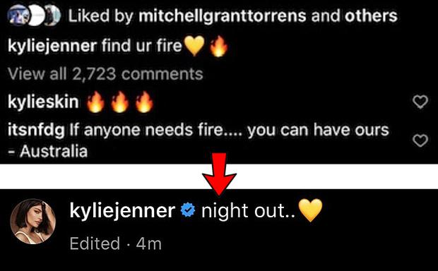 Đăng Instagram khó hiểu giữa thảm họa cháy rừng, Kylie Jenner bị đè đến nỗi vạ lây cả hội chị em cùng nhà - Ảnh 2.