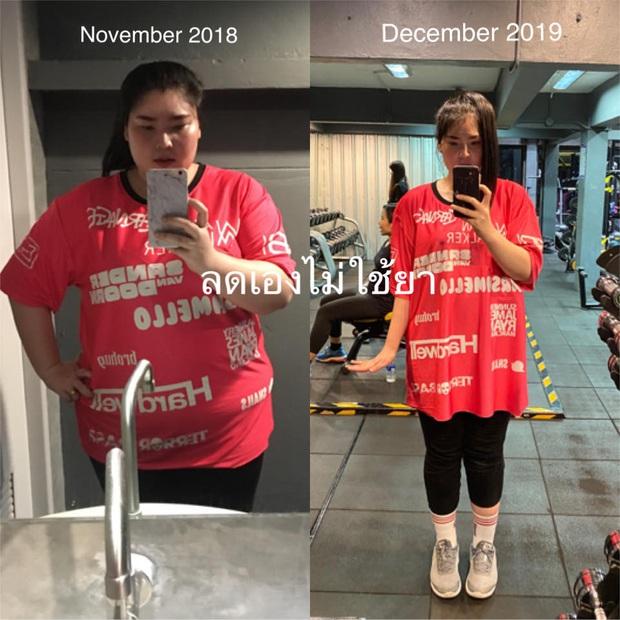Choáng với màn giảm cân khủng ở Thái: nàng béo giảm một lèo 50kg trong 1 năm - Ảnh 3.