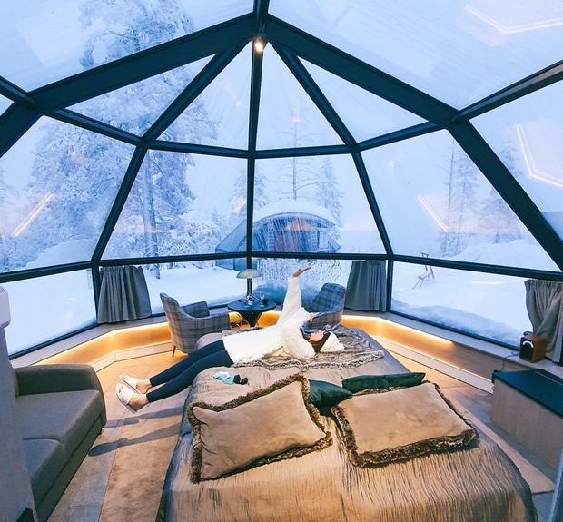 Khách sạn có view đắt giá nhất thế giới chính là đây: Nhà kính 360 độ tha hồ cho khách ngắm Bắc cực quang đẹp như một giấc mơ - Ảnh 9.