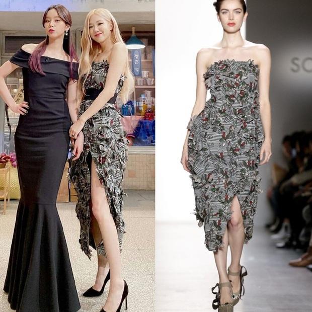 Ngang trái nào bằng khi stylist chăm cắt váy để Rosé sexy hơn nhưng lại khâu váy cho Jisoo kín cổng cao tường - Ảnh 3.
