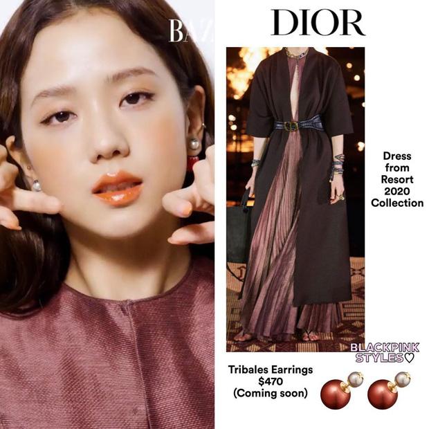 Ngang trái nào bằng khi stylist chăm cắt váy để Rosé sexy hơn nhưng lại khâu váy cho Jisoo kín cổng cao tường - Ảnh 6.