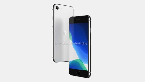 iPhone SE 2 (iPhone 9) lộ ảnh render: Thiết kế giống iPhone 8, mặt lưng kính nhám - Ảnh 2.