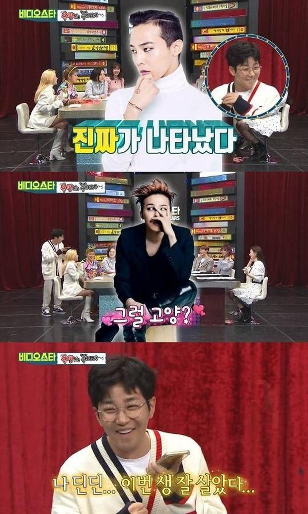 Cuồng G-Dragon nhưng không dám gặp mặt, nam rapper phấn khích tột độ khi được gọi điện cho thần tượng - Ảnh 4.