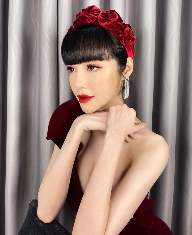Elly Trần và Hà Tăng cùng đu trend bờm nhung nhưng người quyến rũ bạo liệt, người lại biến hóa khôn lường - Ảnh 1.