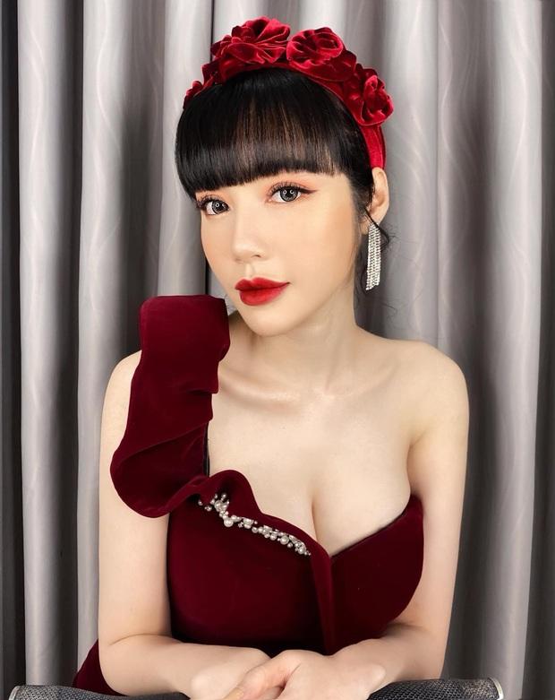 Elly Trần và Hà Tăng cùng đu trend bờm nhung nhưng người quyến rũ bạo liệt, người lại biến hóa khôn lường - Ảnh 2.