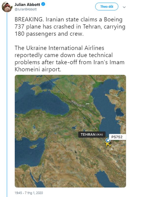 Hiện trường máy bay Ukraine chở 180 người gặp nạn tại sân bay Iran - Ảnh 4.