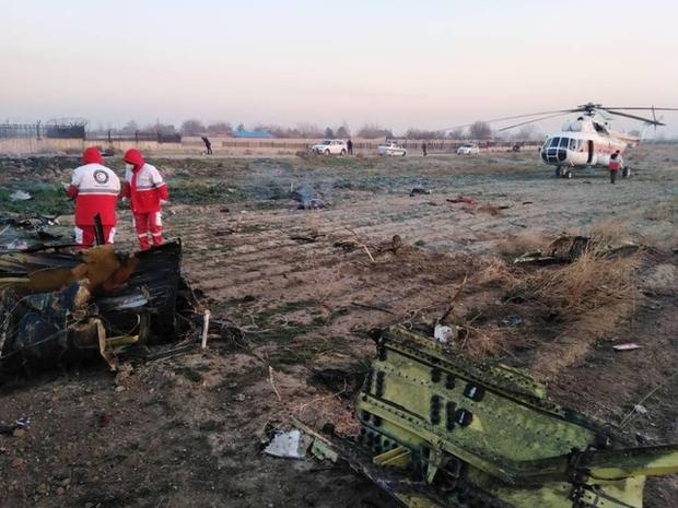 Hiện trường máy bay Ukraine chở 180 người gặp nạn tại sân bay Iran - Ảnh 1.