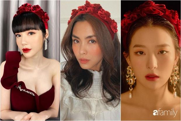 Elly Trần và Hà Tăng cùng đu trend bờm nhung nhưng người quyến rũ bạo liệt, người lại biến hóa khôn lường - Ảnh 7.