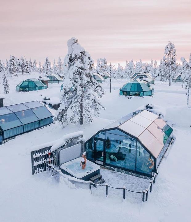 Khách sạn có view đắt giá nhất thế giới chính là đây: Nhà kính 360 độ tha hồ cho khách ngắm Bắc cực quang đẹp như một giấc mơ - Ảnh 5.