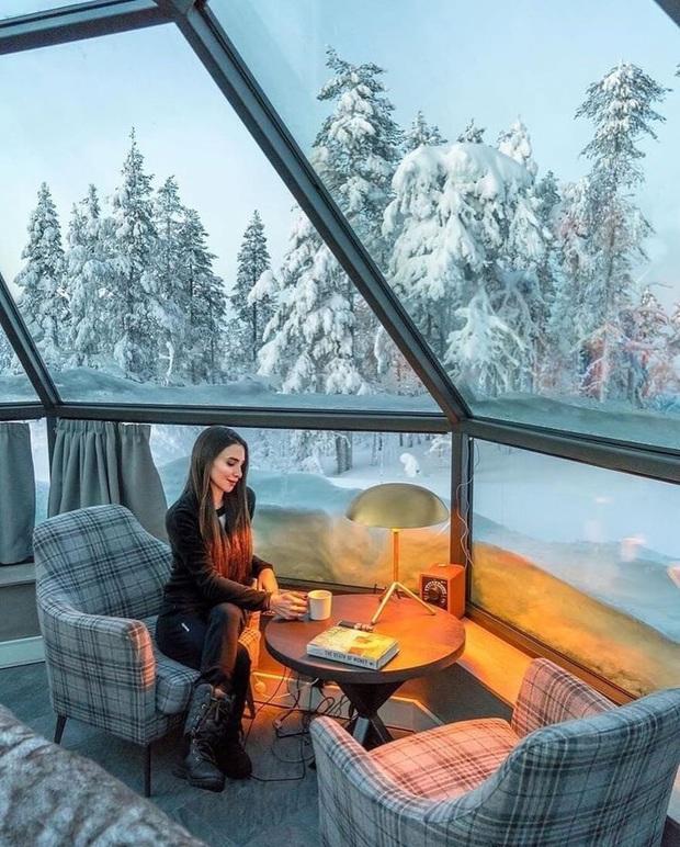 Khách sạn có view đắt giá nhất thế giới chính là đây: Nhà kính 360 độ tha hồ cho khách ngắm Bắc cực quang đẹp như một giấc mơ - Ảnh 4.