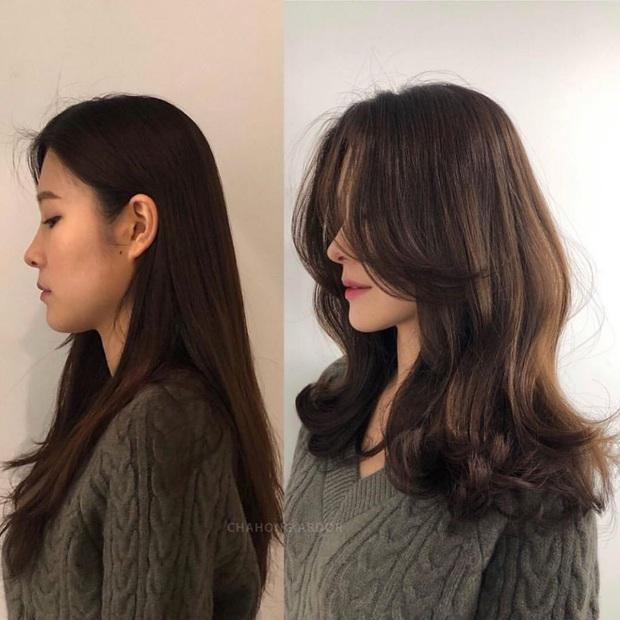 12 màn độ tóc xoăn bồng bềnh đẹp đỉnh cao bạn nên mang ngay ra tiệm làm mẫu để biến hình Tết này - Ảnh 12.