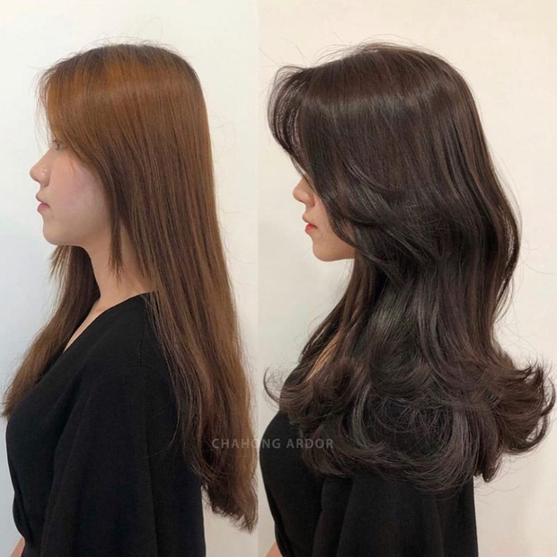12 màn độ tóc xoăn bồng bềnh đẹp đỉnh cao bạn nên mang ngay ra tiệm làm mẫu để biến hình Tết này - Ảnh 5.