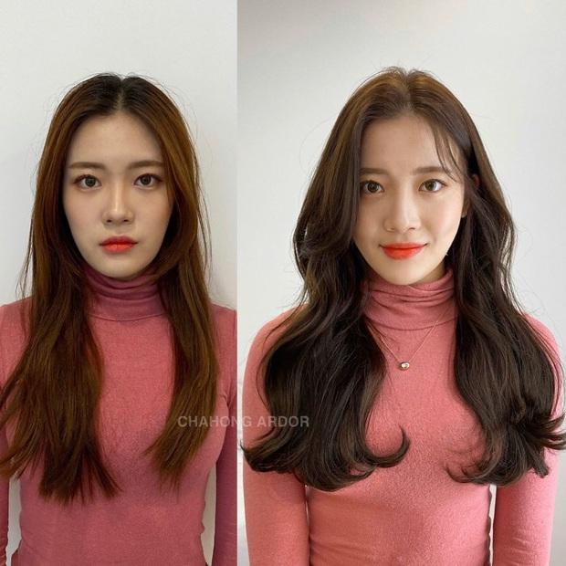 12 màn độ tóc xoăn bồng bềnh đẹp đỉnh cao bạn nên mang ngay ra tiệm làm mẫu để biến hình Tết này - Ảnh 4.
