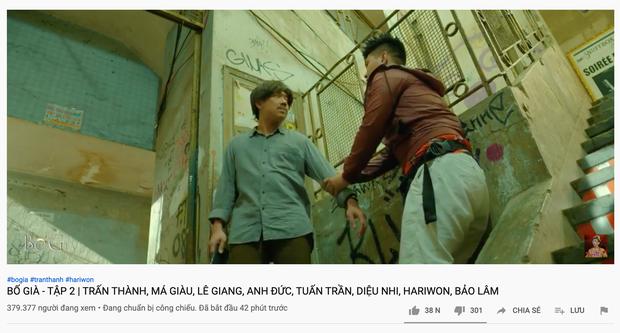 Web drama Bố Già của Trấn Thành bị dân tình phàn nàn vì 15 phút quảng cáo 5 lần - Ảnh 2.