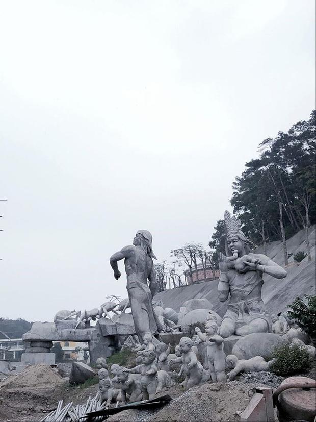 Lót dép hóng công viên King Kong - khủng long siêu to khổng lồ sắp khai trương tại Hạ Long - Ảnh 8.