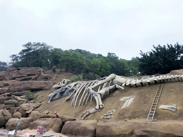 Lót dép hóng công viên King Kong - khủng long siêu to khổng lồ sắp khai trương tại Hạ Long - Ảnh 2.
