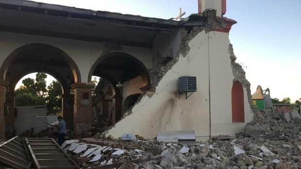 Cửa sổ của Caribe Punta Ventana bị phá hủy bởi trận động đất mạnh 5,8 độ richter khiến ai nấy đều bàng hoàng tiếc nuối - Ảnh 3.