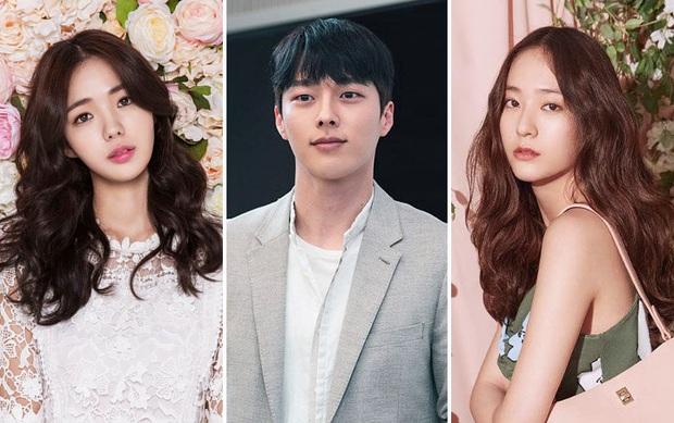 Krystal vướng tình tay ba với trai đẹp Jang Ki Yong, vừa tái xuất phim điện ảnh đã thành tiểu tam công sở? - Ảnh 1.