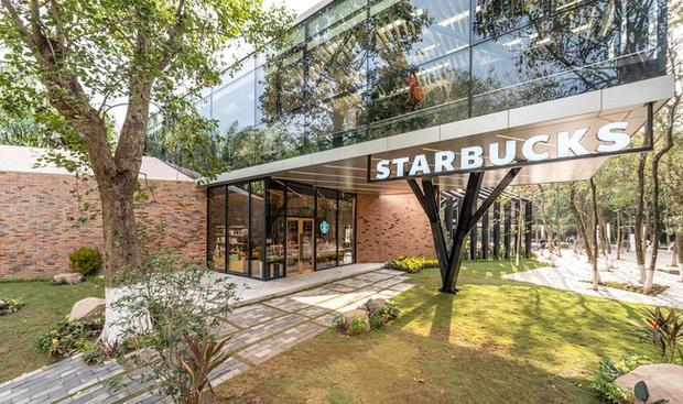 Dân tình trầm trồ với khung cảnh xanh mướt, xịn mịn của tiệm Starbucks mới ở Hưng Yên, rủ nhau đến check in rầm rộ - Ảnh 2.