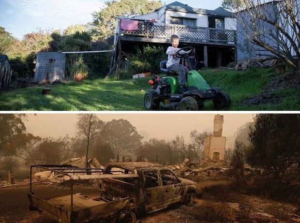 Chùm ảnh đau lòng: Nước Úc trước và sau khi ngọn lửa hung tàn quét qua - Ảnh 12.
