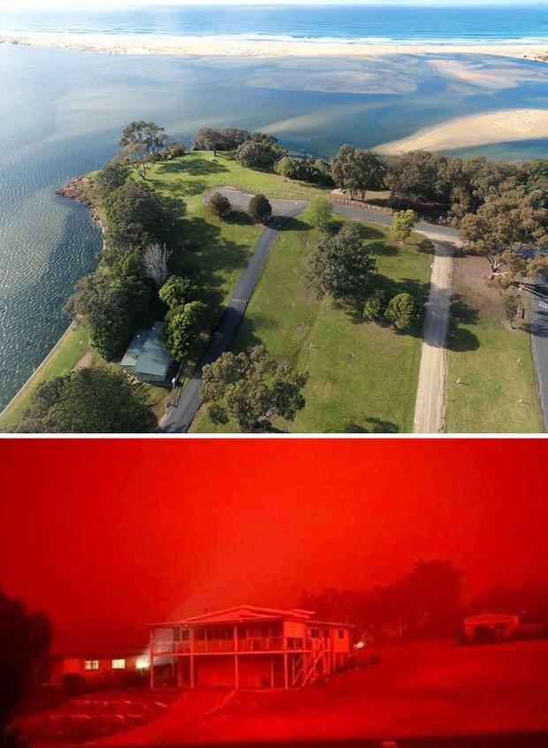 Chùm ảnh đau lòng: Nước Úc trước và sau khi ngọn lửa hung tàn quét qua - Ảnh 15.
