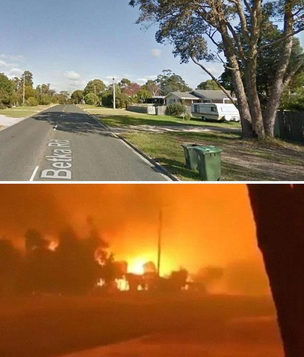 Chùm ảnh đau lòng: Nước Úc trước và sau khi ngọn lửa hung tàn quét qua - Ảnh 17.