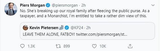 MC nổi tiếng nhất nước Anh nặng nề chỉ trích Meghan hết ghẻ lạnh gia đình, bạn bè mình rồi lại chia rẽ Harry với William và hoàng gia - Ảnh 6.