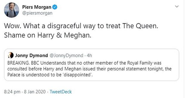 MC nổi tiếng nhất nước Anh nặng nề chỉ trích Meghan hết ghẻ lạnh gia đình, bạn bè mình rồi lại chia rẽ Harry với William và hoàng gia - Ảnh 7.