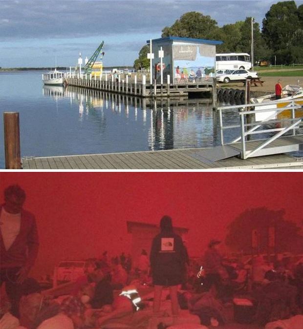 Chùm ảnh đau lòng: Nước Úc trước và sau khi ngọn lửa hung tàn quét qua - Ảnh 9.