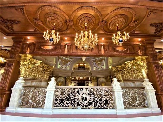 Cận cảnh bên trong tòa lâu đài dát vàng nghìn tỷ của đại gia Ninh Bình - Ảnh 9.