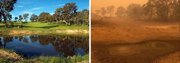 Chùm ảnh đau lòng: Nước Úc trước và sau khi ngọn lửa hung tàn quét qua - Ảnh 10.