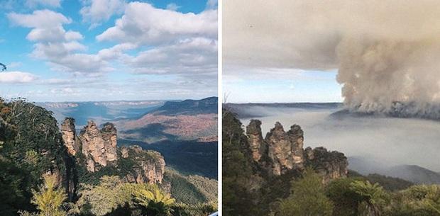 Chùm ảnh đau lòng: Nước Úc trước và sau khi ngọn lửa hung tàn quét qua - Ảnh 11.