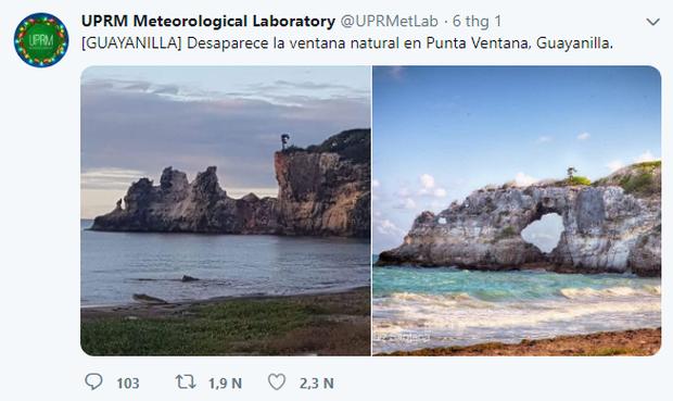 Cửa sổ của Caribe Punta Ventana bị phá hủy bởi trận động đất mạnh 5,8 độ richter khiến ai nấy đều bàng hoàng tiếc nuối - Ảnh 2.