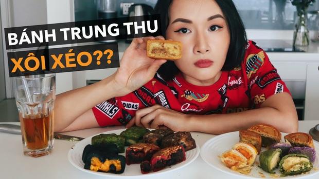 Có 1 vlogger mukbang tới 36 chiếc bánh Trung thu cùng lúc, Giang ơi và Dino Vũ cũng chưa vượt qua nổi con số này - Ảnh 1.