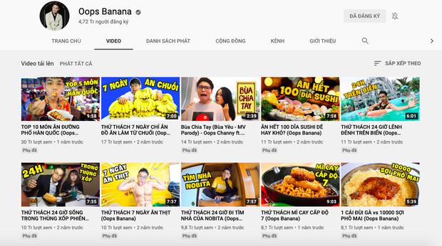"""""""Đại chiến"""" giữa các kênh du lịch - ẩm thực hot nhất Việt Nam: Nhiều cái tên cũ dần """"đuối sức"""", 2 tân binh mới xếp trên cả dàn YouTuber kỳ cựu? - Ảnh 19."""