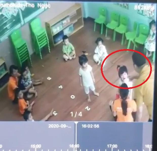 Trường mầm non Trumpkids tạm dừng trông con gái của người đàn ông đánh bé 2 tuổi ở Lào Cai - Ảnh 1.