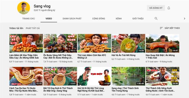 """""""Đại chiến"""" giữa các kênh du lịch - ẩm thực hot nhất Việt Nam: Nhiều cái tên cũ dần """"đuối sức"""", 2 tân binh mới xếp trên cả dàn YouTuber kỳ cựu? - Ảnh 9."""