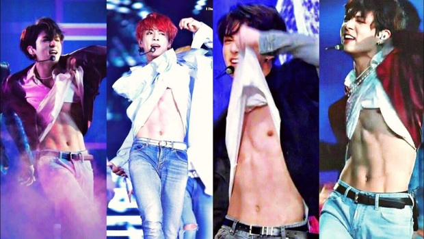 Body em út vàng Jungkook (BTS) đỉnh đến mức nào mà gây náo loạn từ sân khấu xứ Hàn, Billboard đến sóng truyền hình Mỹ? - Ảnh 10.