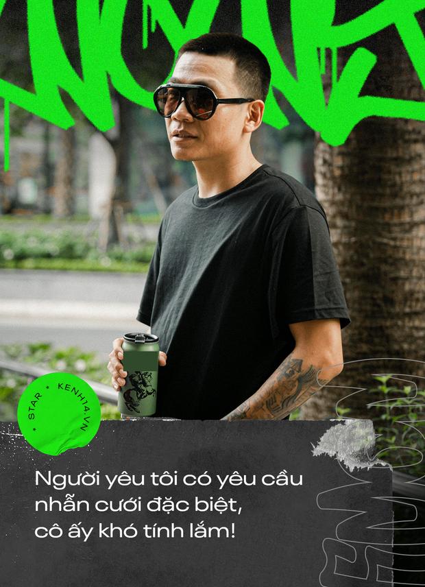 Wowy kể chuyện cưới hụt bạn gái, ẩu đả với Rhymastic và cột mốc Rap Việt: Tôi cảm giác như đang đánh lại cái bóng của chính mình - Ảnh 13.