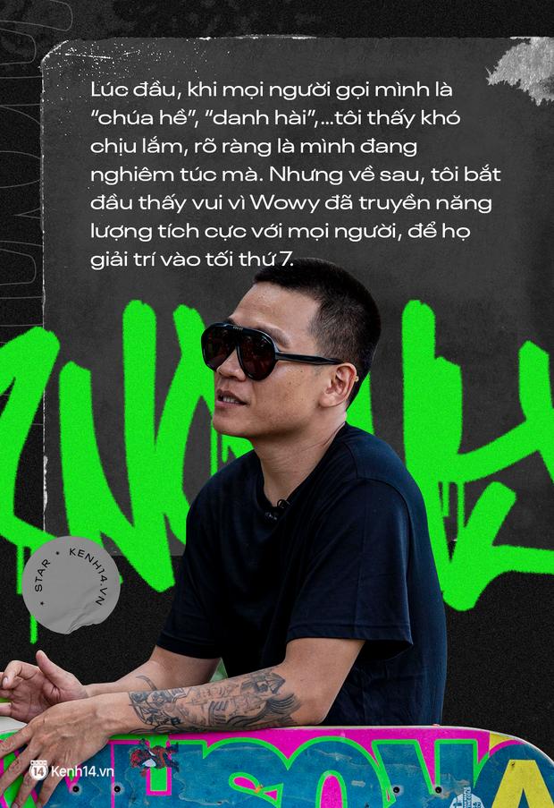 Wowy kể chuyện cưới hụt bạn gái, ẩu đả với Rhymastic và cột mốc Rap Việt: Tôi cảm giác như đang đánh lại cái bóng của chính mình - Ảnh 5.