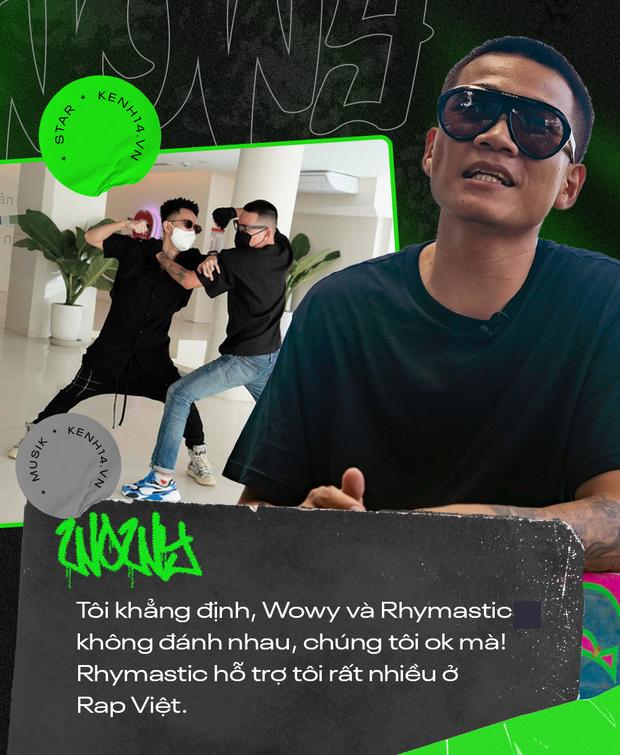 Wowy kể chuyện cưới hụt bạn gái, ẩu đả với Rhymastic và cột mốc Rap Việt: Tôi cảm giác như đang đánh lại cái bóng của chính mình - Ảnh 8.