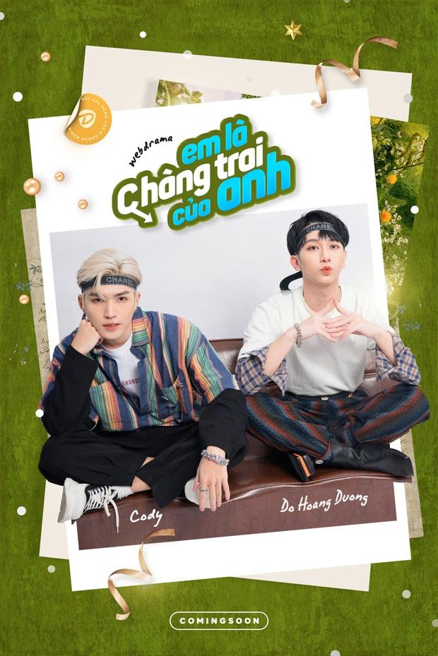 Đỗ Hoàng Dương và Cody (UNI5) bất ngờ nên duyên ở web drama đam mỹ, Việt Nam sắp có hàng hot cạnh tranh 2gether? - Ảnh 1.