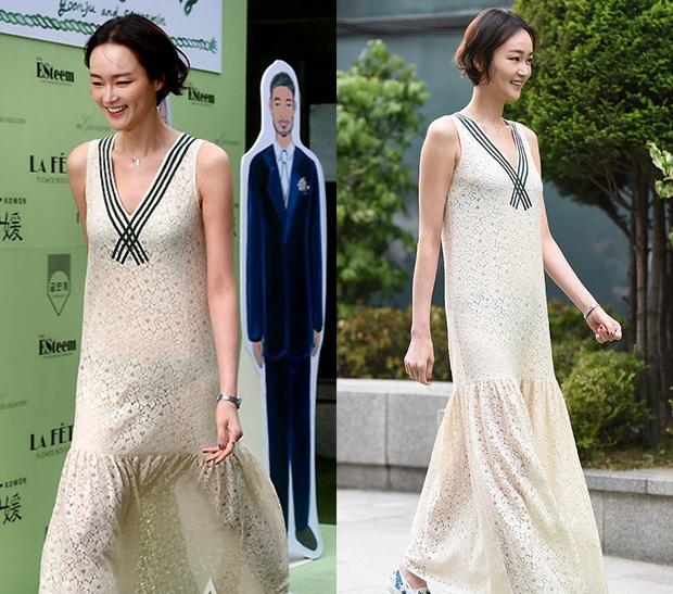Sao Hàn nhận mưa mắng bão chửi vì diện sai đồ đi ăn cưới: Đồ trắng, đồ chóe, đồ ngắn đều bị ném đá - Ảnh 3.