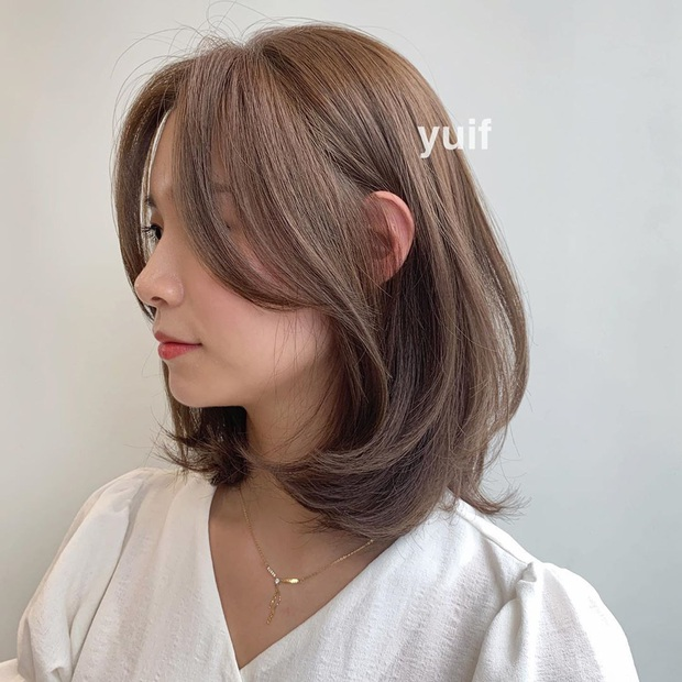 Có một kiểu tóc mái hợp mọi dáng mặt: Che nhược điểm đỉnh cao và tạo góc nghiêng thần thánh như gái Hàn - Ảnh 8.