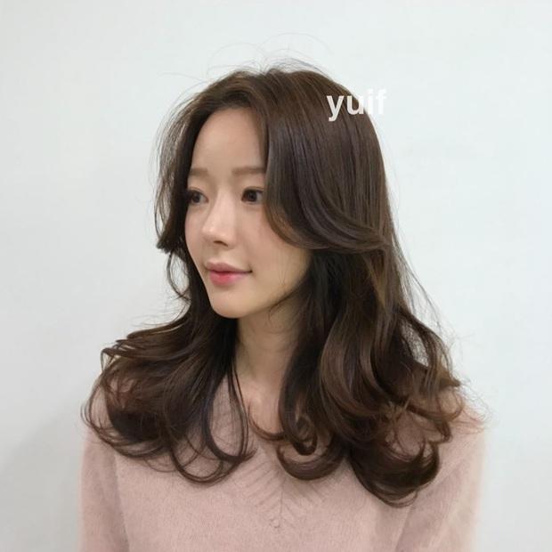 Có một kiểu tóc mái hợp mọi dáng mặt: Che nhược điểm đỉnh cao và tạo góc nghiêng thần thánh như gái Hàn - Ảnh 9.