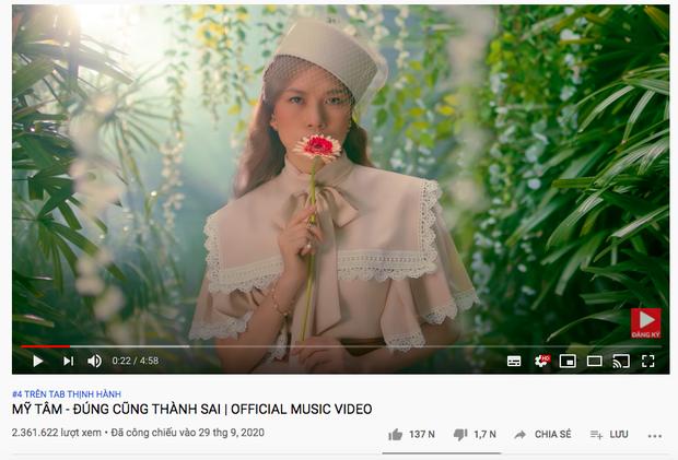 Cô trò Mỹ Tâm - Đức Phúc hội ngộ trên top trending YouTube nhưng vẫn không thể vượt qua nổi Rap Việt và Jack - Ảnh 4.