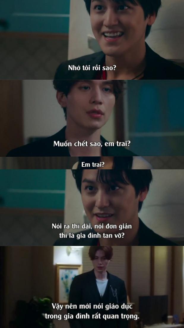 Netizen thích thú khi sểnh ra là Kim Bum lại cà khịa anh trai Lee Dong Wook ở Bạn Trai Tôi Là Hồ Ly - Ảnh 3.