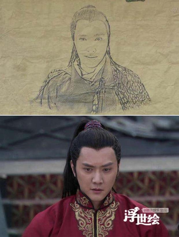 Nhìn ảnh truy nã ở phim Trung chỉ muốn khóc thét: Triệu Lệ Dĩnh quê trớt, Lâm Tâm Như mặt chù vù ong đốt - Ảnh 9.