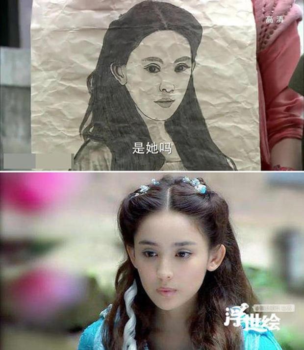Nhìn ảnh truy nã ở phim Trung chỉ muốn khóc thét: Triệu Lệ Dĩnh quê trớt, Lâm Tâm Như mặt chù vù ong đốt - Ảnh 5.